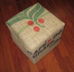 Hessian Bag Seat Cover