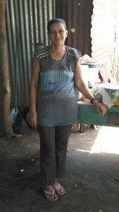 Sponsored by Quest through Kiva: Maria De La Cruz from El Salvador.