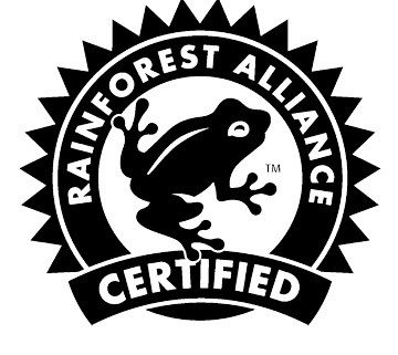 This coffee is rainforest alliance certified, Quest Coffee Roasters Queensland Gold Coast.