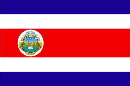 Quest Coffee Roasters image. Flag of Costa Rica.