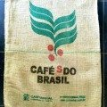 Hessian Bag from Cafes do Brazil; front of bag.