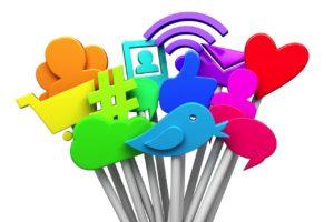 Social media symbols