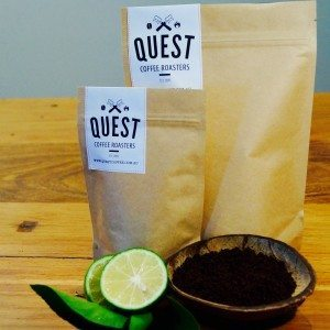 100% Organic Coffee Scrub made at Quest Coffee Roasters