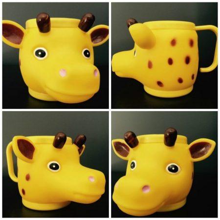Giraffe Land Animal Cup