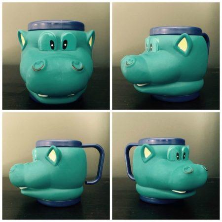 Hippo Land Animal Cup