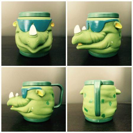 Rhino Land Animal Cup