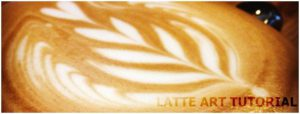 How-to on latte art; mastering the mighty Rosetta