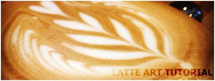 Latte Art Tutorial on a rosetta