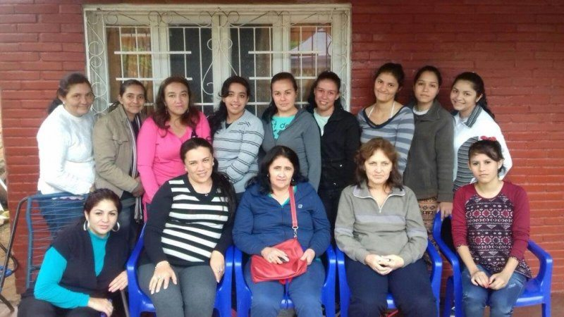 Sponsored by Quest through Kiva: La Esperanza Group from Paraguay.