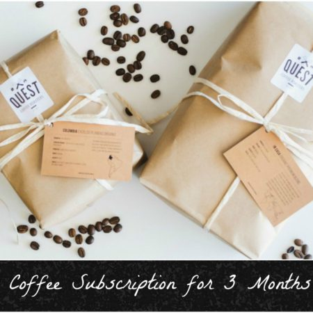 Coffee Subscription: 1kg beans delivered to your door for 3 Months