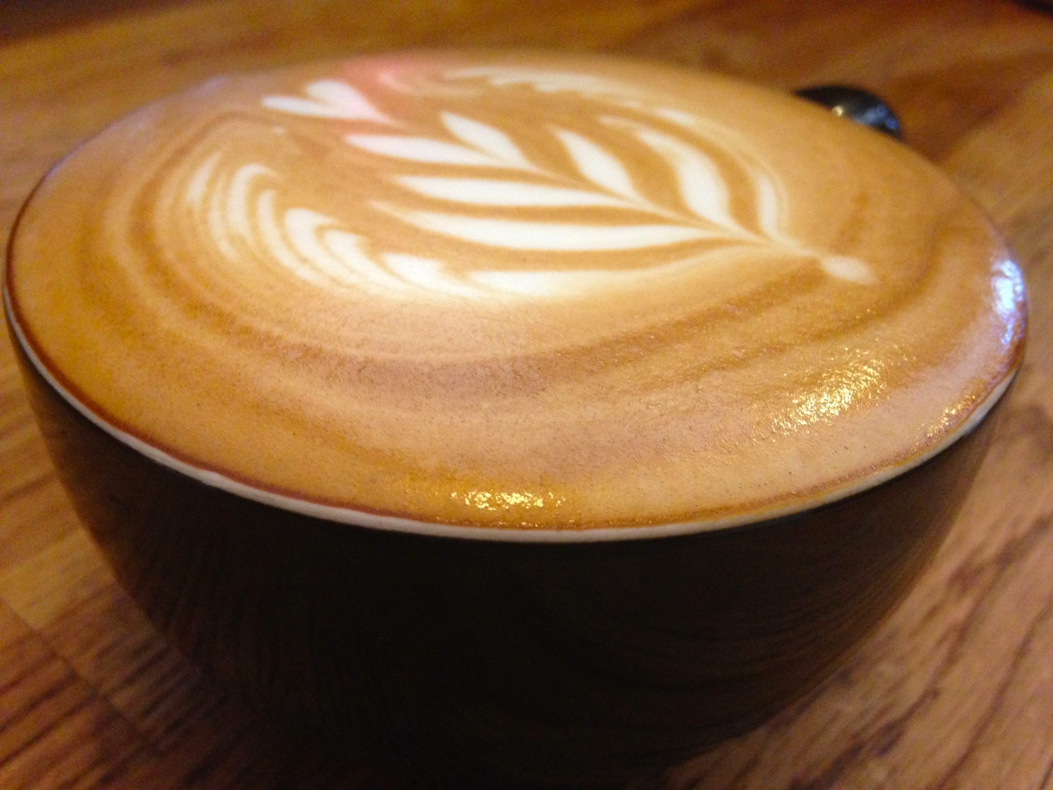 Flat White made at Quest Coffee Roasters