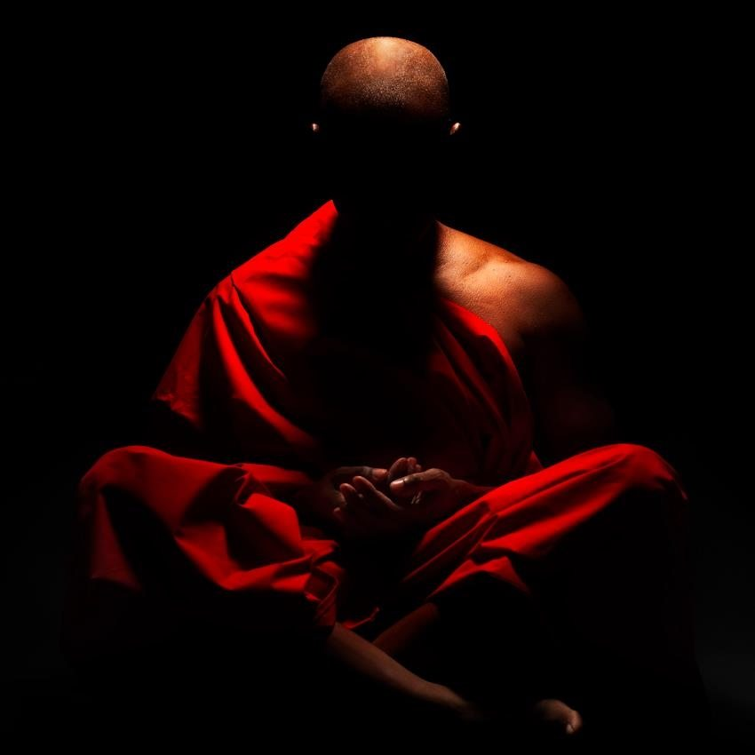 Monk in Meditation
