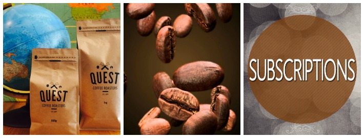 Coffee Subscriptions at Quest Coffee Roasters
