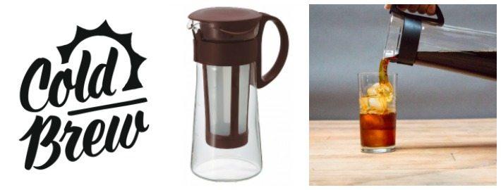 How to brew cold coffee Hario Cold Brewer Mizudashi