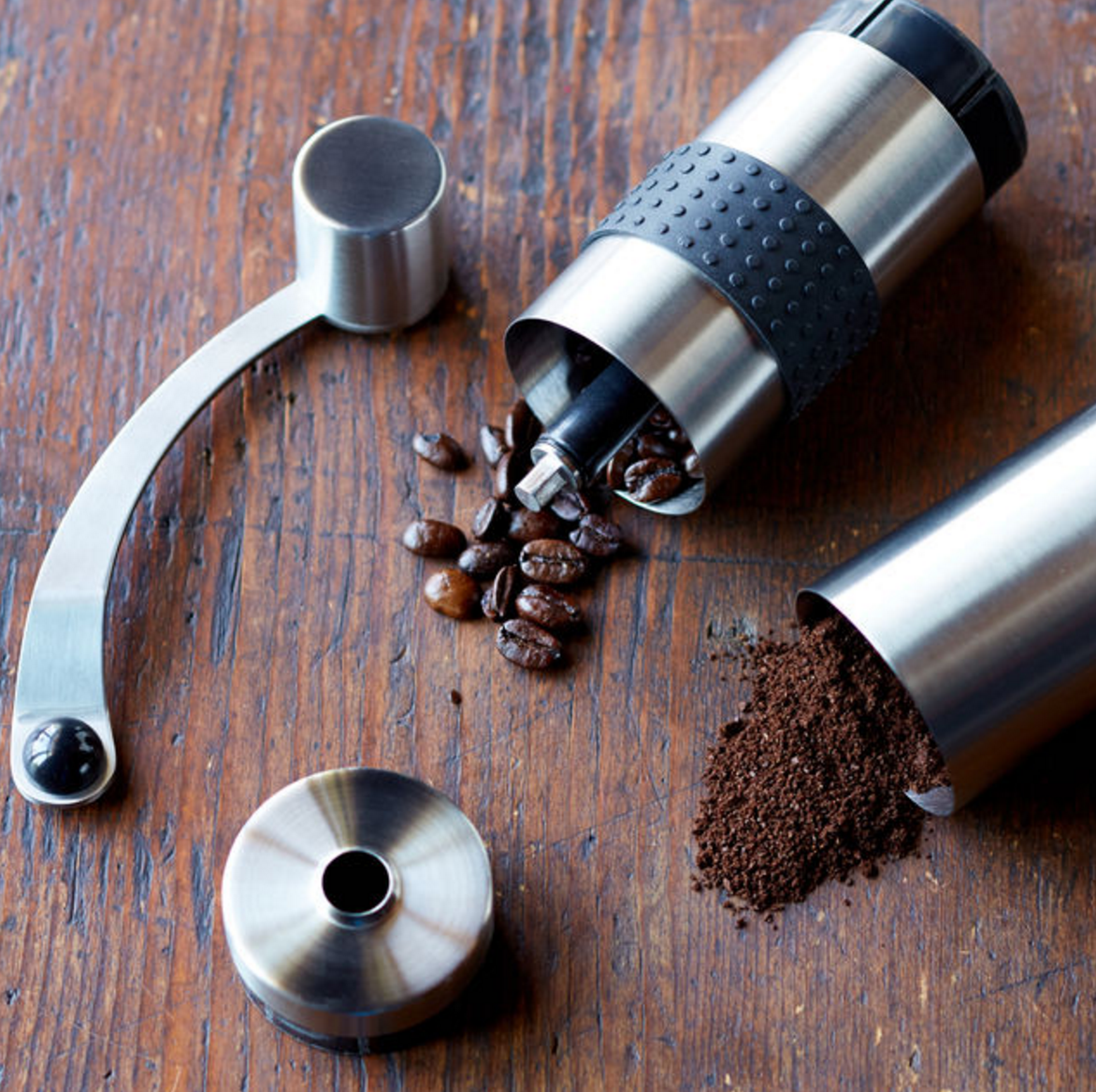 Rhinowares Compact Hand Coffee Grinder
