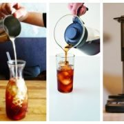 Blogpost covering Cold Brew / Iced Coffee Comparison