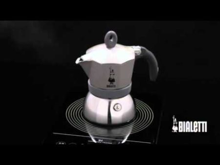 Italian Bialetti Moka Induction Stovetop (available in 3 & 6 cup sizes)