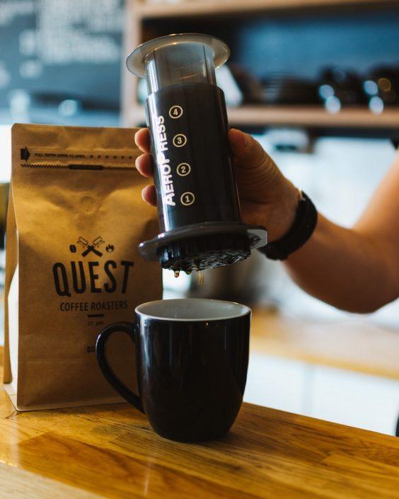 Aeropress + free coffeePromo