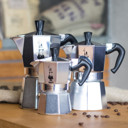 Bialetti Aluminium Stovetop (4, 6 and 9 Cup)