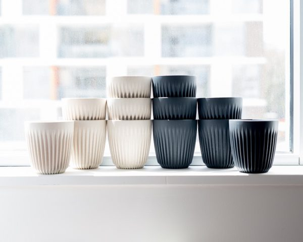 HuskeeCup is an enviro friendly coffee cup made from coffee husk.