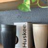 HuskeeCup is an enviro friendly coffee cup made from coffee husk.