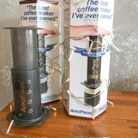 Aeropress Double Deal - 2 Aeropress Brewing Systems and 2 x 500g bags of beans for just $90