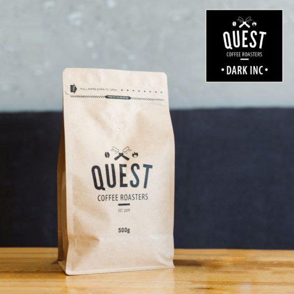 Dark Inc Organic Premium Blend by Quest Coffee Roasters